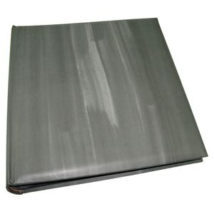Cloud Grey Traditional Photo Album - 100 Black Sides