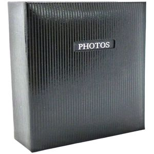 """Elegance Black Traditional Photo Album - 50 Sides Overall Size 11.5x12.5"""""""