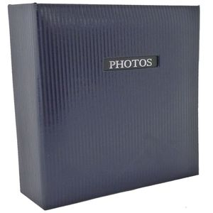 """Elegance Blue Traditional Photo Album - 50 Sides Overall Size 11.5x12.5"""""""