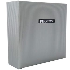 """Elegance Grey Traditional Photo Album - 50 Sides Overall Size 11.5x12.5"""""""