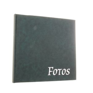 Big Vinyl Green Traditional Photo Album - 100 Black Sides
