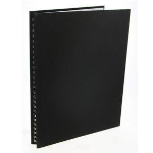 Dorr Black Spiral Poster Album - 40 Black Sides