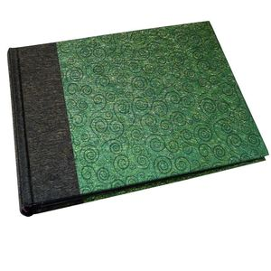 Life Black and Green Traditional Photo Book Album - 40 Sides