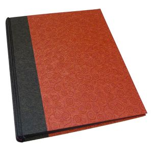 Life Black and Red Traditional Photo Book Album - 60 Sides