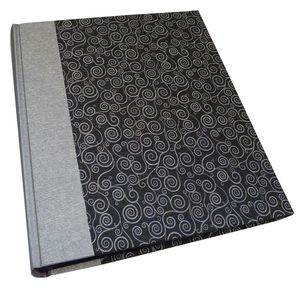 Life Silver and Black Traditional Photo Book Album - 60 Sides