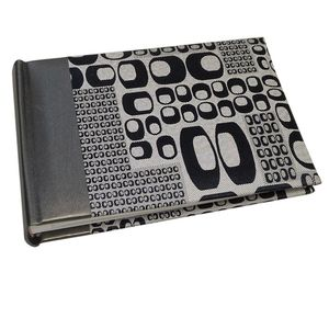 Lounge Grey Traditional Photo Book Album - 40 Sides