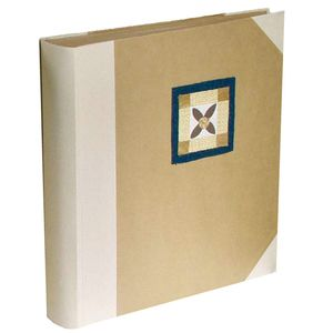 Cotton Cross Traditional Photo Album, 100 Sides