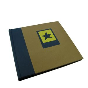 Green Earth Blue Starfish Traditional Photo Book Album - 40 Sides