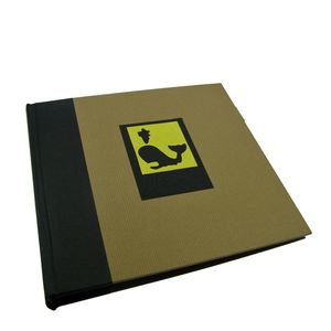 Green Earth Black Whale Traditional Photo Book Album - 40 Sides