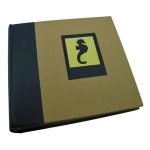 Green Earth Blue Seahorse 6x4 Slip In Photo Album - 200 Photos