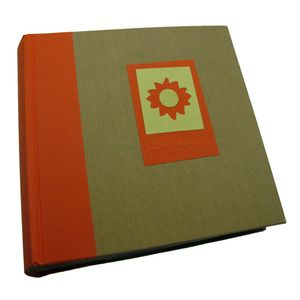 Green Earth Orange Sun 6x4 Slip In Photo Album - 200 Photos
