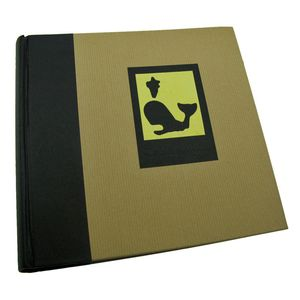 Green Earth Black Whale 6x4 Slip In Photo Album - 200 Photos