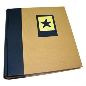 Green Earth Blue Starfish 7x5 Slip In Photo Album - 200 Photos
