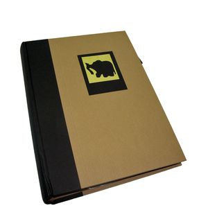Green Earth Black Elephant 6x4 Slip In Photo Album - 300 Photos