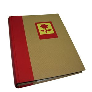 Green Earth Red Flower 6x4 Slip In Photo Album - 300 Photos