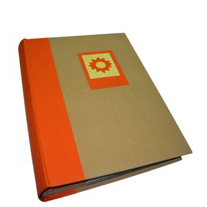 Green Earth Orange Sun 6x4 Slip In Photo Album - 300 Photos