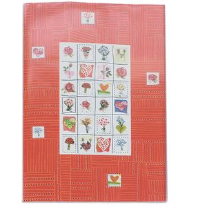 Stamps Coral 6x4 Slip In Photo Album - 24 Photos Overall Size 6.5x4.5""