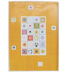 Stamps Yellow 6x4 Slip In Photo Album - 24 Photos Overall Size 6.5x4.5""