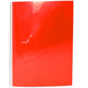 UNI Red Mini 6x4 Slip In Photo Album - 24 Photos Overall Size 6.5x4.5""
