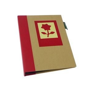 Green Earth Red Flower Mini 6x4 Slip In Photo Album - 36 Photos