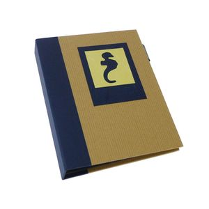 Green Earth Blue Seahorse Mini 6x4 Slip In Photo Album - 36 Photos