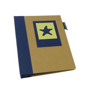 Green Earth Blue Starfish Mini 6x4 Slip In Photo Album - 36 Photos
