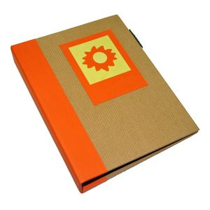 Green Earth Orange Sun Mini 6x4 Slip In Photo Album - 36 Photos