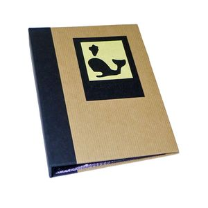 Green Earth Black Whale Mini 6x4 Slip In Photo Album - 36 Photos
