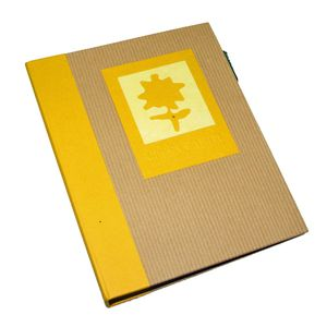 Green Earth Yellow Flower Mini 6x4 Slip In Photo Album - 36 Photos