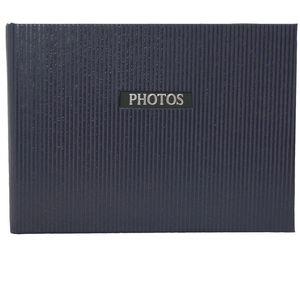 "Elegance Blue 6x4 Slip In Photo Album - 36 Photos Overall Size 7x4.5"""
