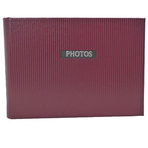 """Elegance Red 6x4 Slip In Photo Album - 36 Photos Overall Size 7x4.5"""""""