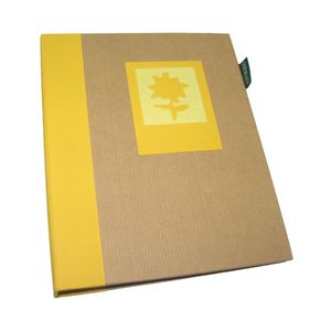 Green Earth Yellow Flower Mini 7x5 Slip In Photo Album 36 Photos