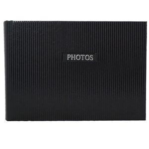 "Elegance Black 7x5 Slip In Photo Album - 36 Photos Overall Size 8.5x6"""