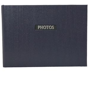 "Elegance Blue 7x5 Slip In Photo Album - 36 Photos Overall Size 8.5x6"""