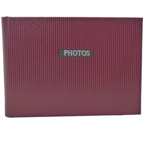 """Elegance Red 7x5 Slip In Photo Album - 36 Photos Overall Size 8.5x6"""""""