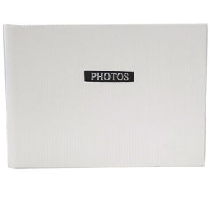 "Elegance White 7x5 Slip In Photo Album - 36 Photos Overall Size 8.5x6"""