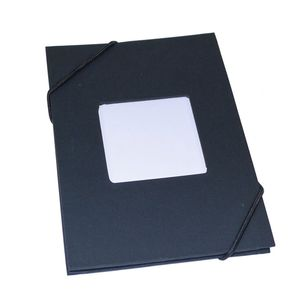 Leporello Black 6x4 Slip In Photo Album - 24 Photos
