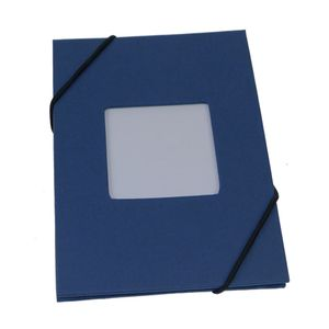 Leporello Blue 6x4 Slip In Photo Album - 24 Photos