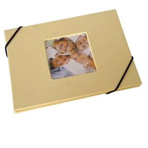 Leporello Cream 6x4 Slip In Photo Album - 24 Photos