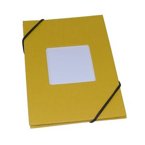 Leporello Yellow 6x4 Slip In Photo Album - 24 Photos
