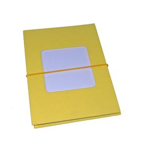 Leporello Yellow 7x5 Slip In Photo Album - 24 Photos