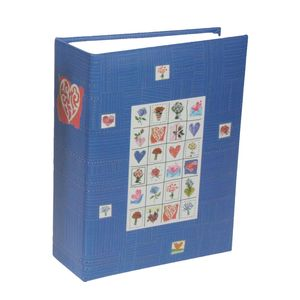 Stamps Blue 6x4 Mini Max Photo Album - 100 Photos