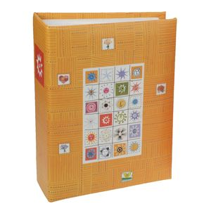 Stamps Orange 6x4 Mini Max Photo Album - 100 Photos