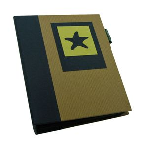 Green Earth Blue Starfish Mini Max 6x4 Slip In Photo Album - 120 Photos