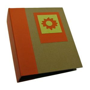 Green Earth Orange Sun Mini Max 6x4 Slip In Photo Album - 120 Photos