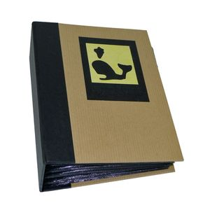 Green Earth Black Whale Mini Max 6x4 Photo Album - 120 Photos