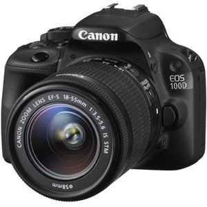 Canon EOS 100D Digital SLR Camera and 18-55mm STM Lens Kit