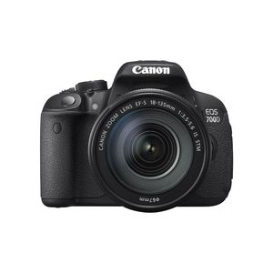 Canon EOS 700D Digital SLR Camera with 18-135mm IS STM Lens