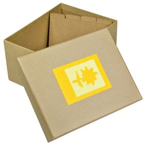 Green Earth Yellow Flower Photo Box for 700 7x5 Photos