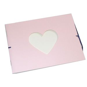 Mini Pink Traditional Photo Album - 12 Sides
